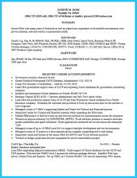 Dba Resume For 2 Year Experience Sample Sql Server Dba Resume Free Resume Example And Writing