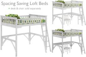 white loft bed with desk white loft bed for kids full size loft bed the futon shop