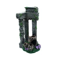 Roman Columns For Home Decor by Aliexpress Com Buy 1pcs Fish Tank Decor Simulation Resin Roman