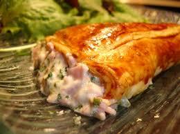 recettes cuisine rapide recette cornets feuilletés au fromage et jambon cuisinez cornets