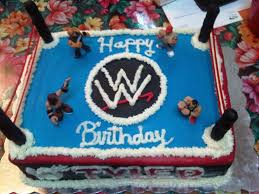 wwe birthday cakes cakes ideas