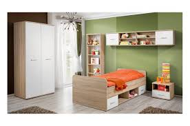 chambre a coucher des enfants chambre à coucher enfant bois blanc novomeuble