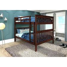 Bunk Bed Assembly Donco Bunk Bed Bed Mission Pine Bunk Bed