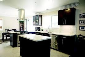 espresso kitchen cabinets with white countertops espresso cabinets with white quartz countertop and white