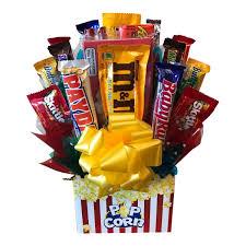 popcorn baskets popcorn candy bouquet aa gifts baskets