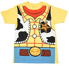 story woody cowboy costume banana yellow t