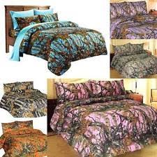 Purple Camo Bed Set Nature Print Sheet Sets Ebay