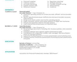 Game Designer Resume Financial Resume Examples Resume Example And Free Resume Maker