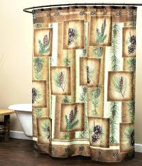 Curtains For A Cabin Curtains For Log Cabins Cabin Shower Curtains Cabin Themed Shower