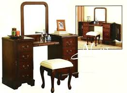 3 Piece Vanity Set Vanities Frozen Vanity Set With Stool Cherry Vanity Set With