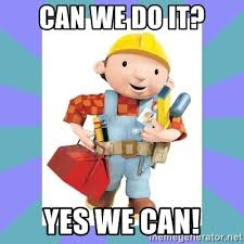 Meme Builder - can we do it yes we can bob the builder meme generator