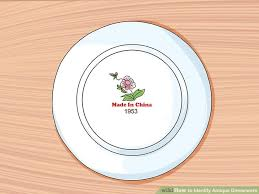 how to identify antique dinnerware 13 steps with pictures