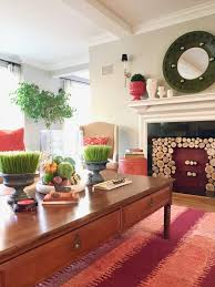 how to style a colorful fall coffee table blogger tips and tricks