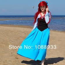 Mermaid Costumes Halloween Aliexpress Buy Princess Ariel Costume Mermaid