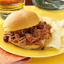 cranberry bbq pulled pork recipe taste of home