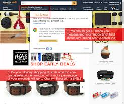 when to shop amazon black friday amazon smile