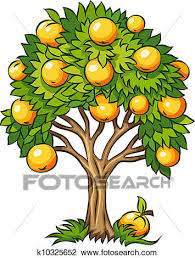 clipart of fruit tree isolated k10325652 search clip