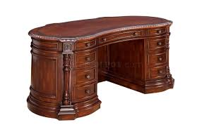 Oval Office Desk Cm Dk6252od Oval Office Desk In Cherry W Options