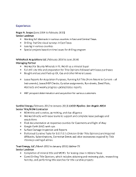Landman Resume Example by Oil And Gas Resume Cover Letter Oil And Gas Resume Template
