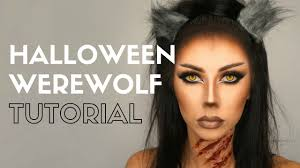 halloween werewolf makeup tutorial bella makeup youtube