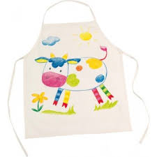 tablier cuisine pour enfant tablier de cuisine à décorer goki la fée du jouet dessin et