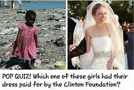 chelsea clinton wedding dress wikileaks reveals where clinton foundation charity went