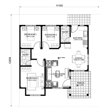 efficient small house plans php 2015022 is a 3 bedroom 2 toilet and bath small efficient