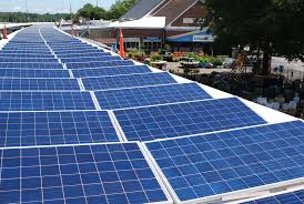 Solar Canopy by Nc Solar Now Makes Logan U0027s One Stop Garden Shop Even Greener Nc