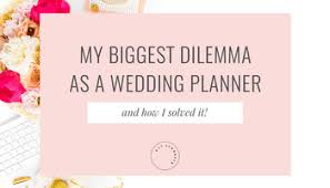 how to be a wedding planner 5 things to think about if you want to be a wedding planner