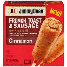 Jimmy Dean Cinnamon French Toast U0026 Sausage On A Stick 12ct Hy