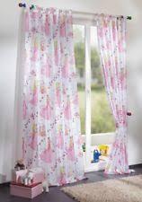 kinderzimmer gardinen rosa gardinen vorhänge im kinder stil ebay