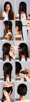 hair desings with plated hair 20 cute and easy braided hairstyle tutorials