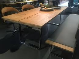 Wood Dining Table With Bench And Chairs A Trip Into The World Of Stylish Dining Tables