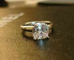 5 Carat Cushion Cut Engagement Rings Post Photos Only Of Your Engagement Wedding Ring S Here Purseforum