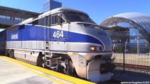Amtrack Amtrak Trains Artic Anaheim Regional Transportation Intermodal