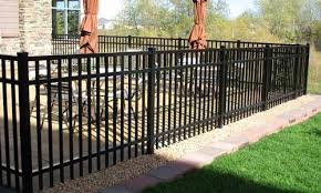 aluminum fences minneapolis mn