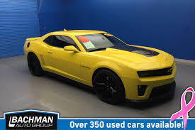 2013 chevy camaro pre owned 2013 chevrolet camaro zl1 2dr car in louisville sp1416a