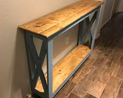 Wood Entry Table Entry Table Etsy