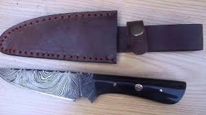 obsidian knife company advertisement damascus steel knives for