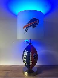 Kids Lighting Nfl Buffalo Bills Football Lamp Man Cave Sports Lamp Night