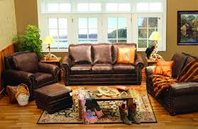Leather Chair Living Room by Rustic Living Room Furniture Ideas To Created A Romantic Room With