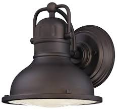 Westinghouse Lighting Fixtures Westinghouse Orson One Light Led Outdoor Wall Fixture Rubbed