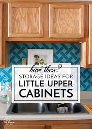 kitchen sink cabinet storage ideas storage ideas for cabinets the homes i made