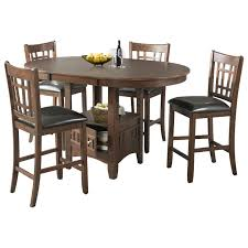 Patio Furniture Counter Height Table Sets Elements International Max Casual Counter Height Table Set