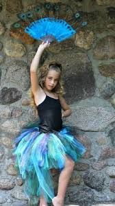 Peacock Costume Halloween Peacock Tutu Costume Pageant Party Portrait Dress Blissycouture