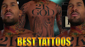 full body tattoo nba 2k16 nba 2k16 tips tricks full body tattoo tutorial best design in