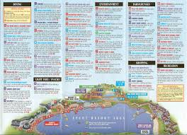Disney Florida Map by Epcot Resort Area Map Wdwinfo Com