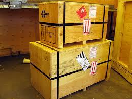 dangerous goods packaging inventory checks warehouse marshalling