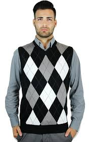 blue argyle sweater vest at s clothing store
