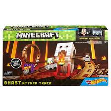 wheels minecraft ghast attack track playset target